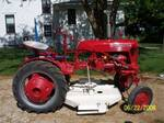 Farmall Cub ~ Think Pink - Antique Tractor Blog