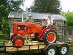 1952 Allis Chalmers B ~ Think Pink - Antique Tractor Blog