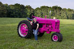 1956 Farmall 400 - Think Pink - Antique Tractor Blog