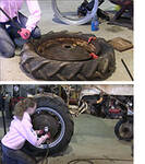 How to Replace the Rim on your Tractor - Antique Tractor Blog