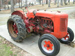 1943 Case Preparing to be Passed On - Antique Tractor Blog