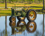 Will he see his shadow? - Antique Tractor Blog