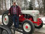 Ford Tractor is Heading Home - Antique Tractor Blog