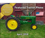 April Featured Photo - Antique Tractor Blog
