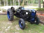 Ford 641 Wearing Law Enforcement Colors - Antique Tractor Blog
