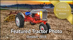 October Featured Photo - Antique Tractor Blog